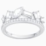 Henrietta Ring, White, Rhodium plating - Swarovski, 5372920