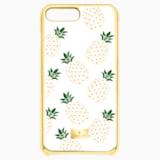 Lime 智能手機防震保護套, iPhone® 8 Plus, 透明色 - Swarovski, 5373000
