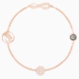Swarovski Remix Collection Infinity Strand, Черный Кристалл, Покрытие оттенка розового золота - Swarovski, 5373225