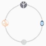 Swarovski Remix Collection Peace Strand, Blue, Rhodium plated - Swarovski, 5373246