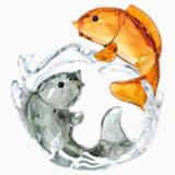 İkili Sazan Balığı - Swarovski, 5376621