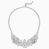 Atelier Swarovski Thalia Bridal Collection Necklace, Palladium plating - Swarovski, 5377174