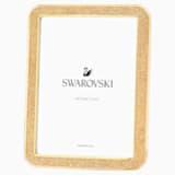 Minera Picture Frame, Small, Gold Tone - Swarovski, 5379164