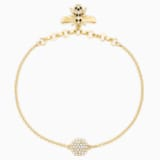 Swarovski Remix Collection Bee Strand, Black, Gold-tone plated - Swarovski, 5380077