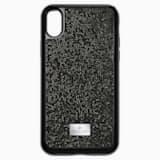 Glam Rock Чехол для смартфона с противоударной защитой, iPhone® X/XS, Черный - Swarovski, 5392050
