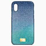 Funda para smartphone con protección rígida High Ombre, iPhone® X/XS, verde - Swarovski, 5393908