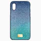 High Ombre Smartphone Case with Bumper, iPhone® X/XS, Green - Swarovski, 5393908