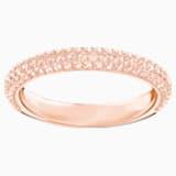 Stone 링, 핑크, 로즈골드 톤 플래팅 - Swarovski, 5402443