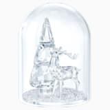 仿水晶钟罩 – 松树与雄鹿 - Swarovski, 5403173