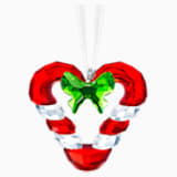 Candy Cane Heart Ornament - Swarovski, 5403314