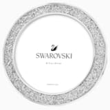 Portarretratos Minera, redondo, tono plateado - Swarovski, 5408239