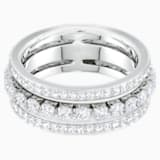 Further Ring, weiss, Rhodiniert - Swarovski, 5409642