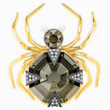 Magnetic Brooch, Multi-colored, Mixed metal finish - Swarovski, 5409681