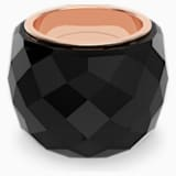 Swarovski Nirvana Ring, Black, Rose-gold tone PVD - Swarovski, 5410336