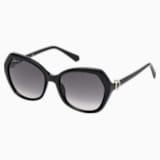 Okulary przeciwsłoneczne Swarovski, SK0165 - 01B, czarne - Swarovski, 5411618