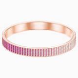 Luxury Bangle, Pink, Rose-gold tone plated - Swarovski, 5412029