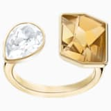 Prisma 戒指图案, 金色, 镀金色调 - Swarovski, 5412040