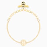 Swarovski Remix Collection Bee Strand, 블랙, 골드 톤 플래팅 - Swarovski, 5412322