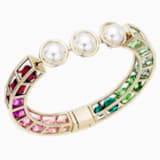 Mary Katrantzou Nostalgia Bangle, Gold-tone plated - Swarovski, 5414533