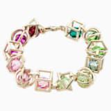 Mary Katrantzou Nostalgia Bracelet, Gold-tone plated - Swarovski, 5414776