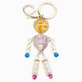 Mary Katrantzou Nostalgia Key Charm, Gold plating - Swarovski, 5415009