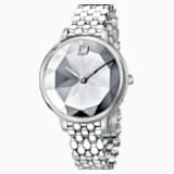 Crystal Lake-horloge, Metalen armband, Wit, Roestvrij staal - Swarovski, 5416017