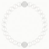 Swarovski Remix Collection Crystal Pearl Strand, White, Rhodium plated - Swarovski, 5421433