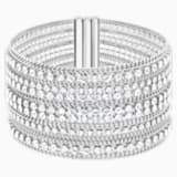 Fit Bracelet, White, Stainless steel - Swarovski, 5421826