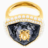 Magnetic Cocktail Ring, Multi-colored, Gold-tone plated - Swarovski, 5423174