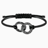 Alto-armband, Grijs, Roestvrij staal - Swarovski, 5427137