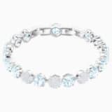 Mix Bracelet, Blue, Rhodium plated - Swarovski, 5427972