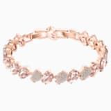 Mix Bracelet, Pink, Rose-gold tone plated - Swarovski, 5427973