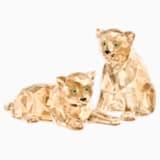 SCS Cachorros de Leopardo del Amur - Swarovski, 5428542