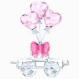 Vagón con globos de corazón - Swarovski, 5428615