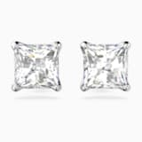 Attract Серьги, Белый Кристалл, Родиевое покрытие - Swarovski, 5430365