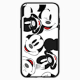 Mickey Face Smartphone Case with integrated Bumper, iPhone® X/XS, Black - Swarovski, 5435474