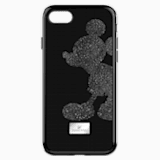 Mickey Body Smartphone Case with integrated Bumper, iPhone® 8, Black - Swarovski, 5435478