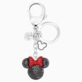 Minnie 手袋坠饰, 黑色, 不锈钢 - Swarovski, 5435479