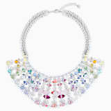 Neon Necklace, Multi-colored, Rhodium plated - Swarovski, 5435557