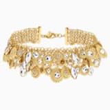 Nemesia Necklace, Multi-coloured, Gold-tone plated - Swarovski, 5435560