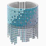 Ocean Cuff, Multi-colored, Rhodium plated - Swarovski, 5435561