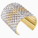 Notorious Cuff, Multi-colored, Gold-tone plated - Swarovski, 5435562