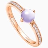 许愿星辰18K玫瑰金紫晶钻石戒指 - Swarovski, 5436224