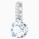Swarovski Remix Collection Charm, 四月, 白色, 鍍白金色 - Swarovski, 5437320