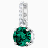 Swarovski Remix Collection Charm, mayo, verde, Baño de Rodio - Swarovski, 5437321