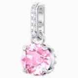 Swarovski Remix Collection Charm, Октябрь, Розовый Кристалл, Родиевое покрытие - Swarovski, 5437322
