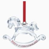 Ozdoba na pierwsze Boże Narodzenie dziecka, Coroczna Edycja 2019 - Swarovski, 5439947
