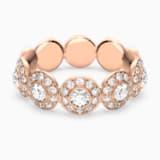Angelic 戒指, 白色, 镀玫瑰金色调 - Swarovski, 5441199
