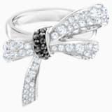 Mademoiselle Ring, Multi-colored, Rhodium plated - Swarovski, 5444826