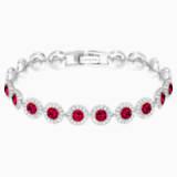 Angelic Браслет, Красный Кристалл, Родиевое покрытие - Swarovski, 5446006